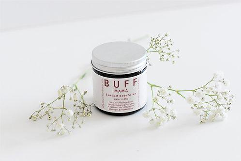 BUFF Natural Body Care, MAMA Gentle/Natal Blend Sea Salt Body Scrub - Sale - 40%