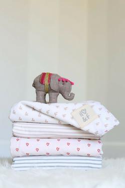 Hope & Fortune luxury organic baby blankets
