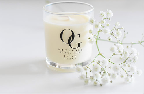 Organdle, Organic Soy Wax Travel Candle - Sale - 40% off