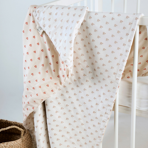 Hope & Fortune Organic Cotton Baby Blanket - Sale - 25% off