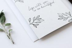 The Hidden Pearl Studio hand-illustrated card