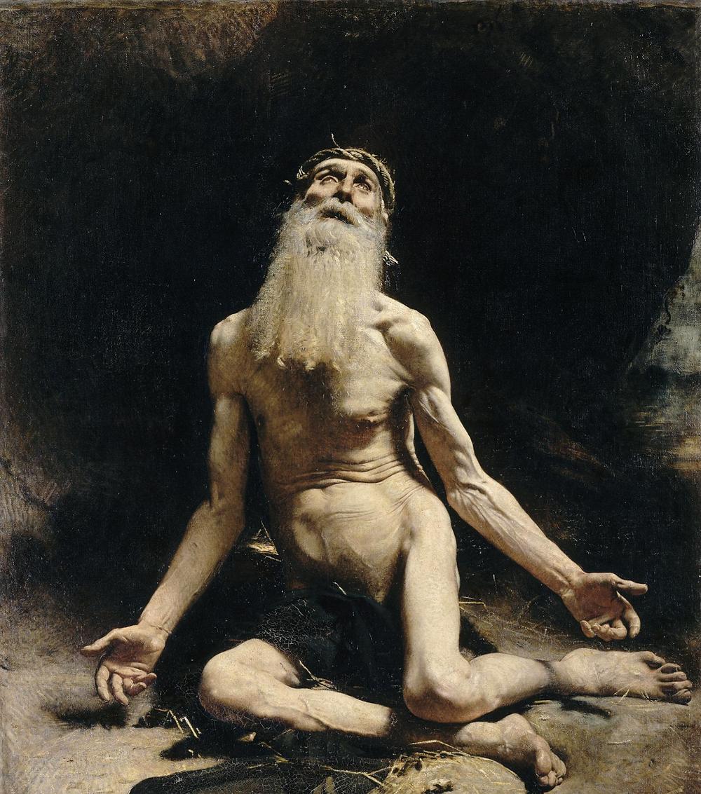 Léon Bonnat - Job (1880)