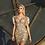 Thumbnail: Χρυσό φόρεμα κεντημένο με παγιέτα