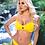 Thumbnail: Rib bikini yellow set