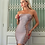 Thumbnail: Bandage dusty pink dress