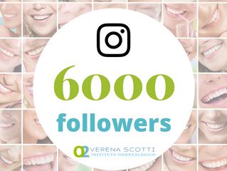 Instagram - 6000 seguidores