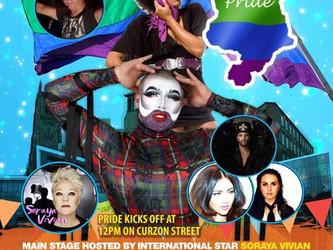 Live date: Derby Pride 2018