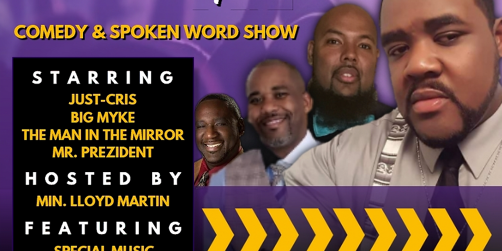 The Laugh and Listen Squad Spoken Word and Comedy Show