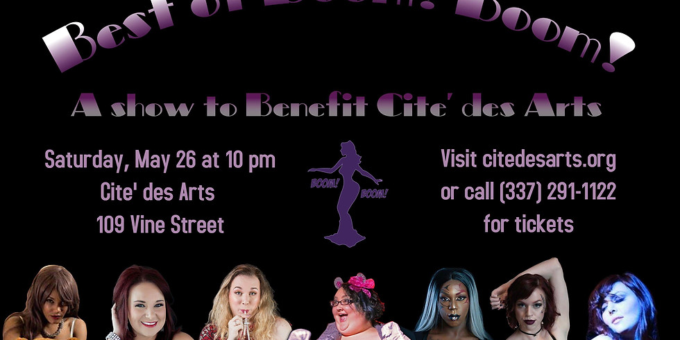 Burlesque Benefit - Boom! Boom! Burlesque
