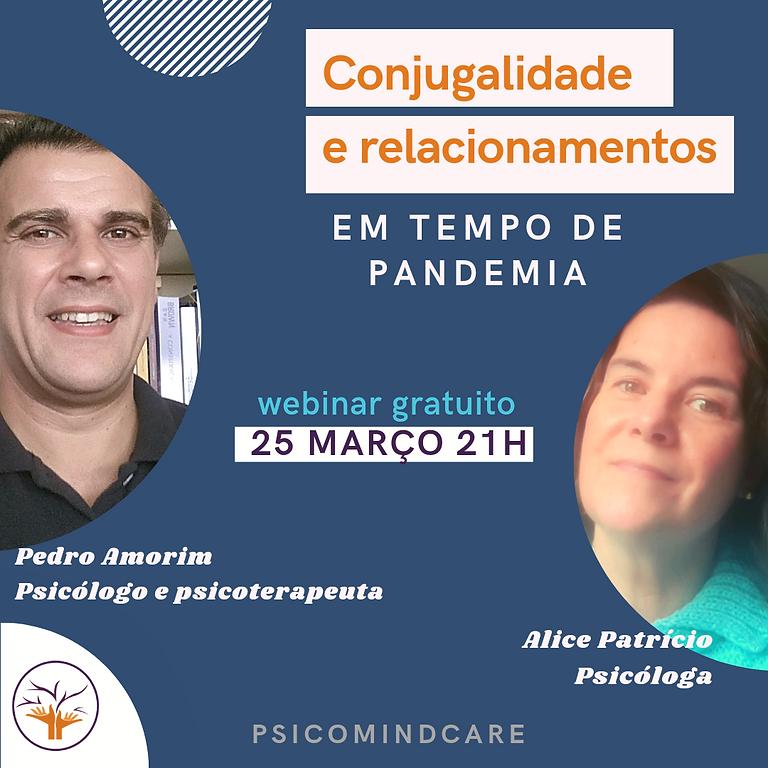 Pergunte ao psicólogo - Conjugalidade e relacionamentos em tempo de pandemia