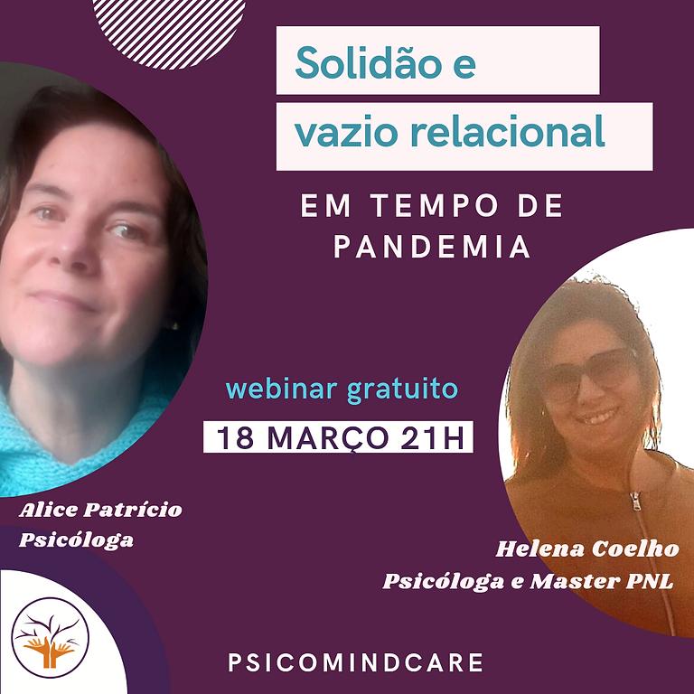 Pergunte ao psicólogo - Solidão e vazio relacional em tempo de pandemia