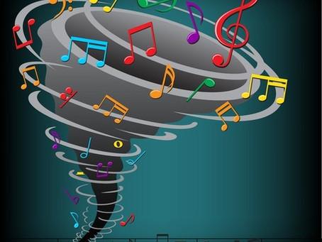 Sou uma pauta musical