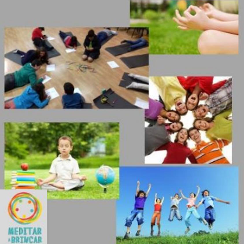 Meditar a brincar - Formação em Meditação Formação para crianças e jovens
