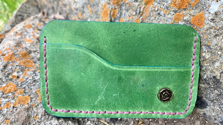 Micro Wallet Green/Turquoise