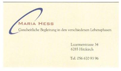 Maria Hess