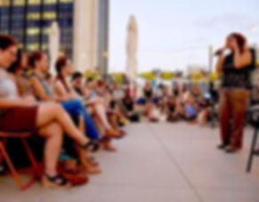 outdoors Women in Tech  - Women in Digit