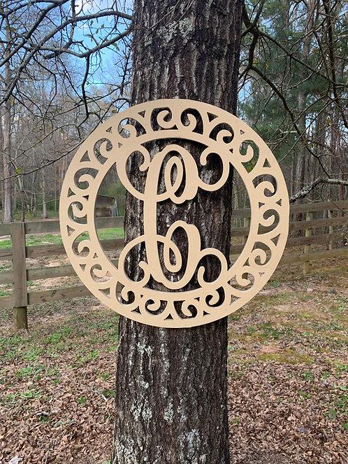 Swirl Around Style Sign