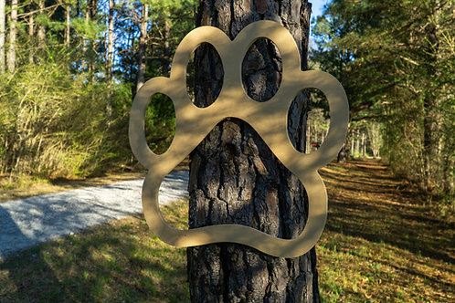 Large Paw Sign
