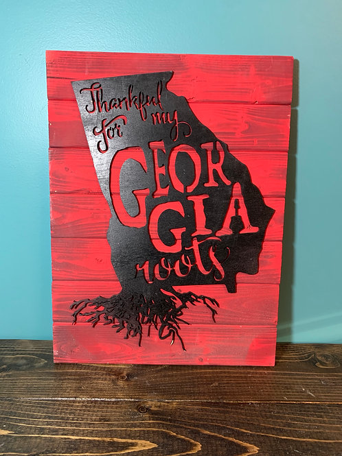 Georgia Roots Sign