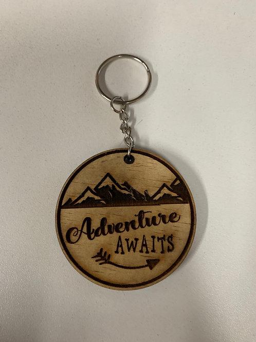 Adventure Awaits Key Chain