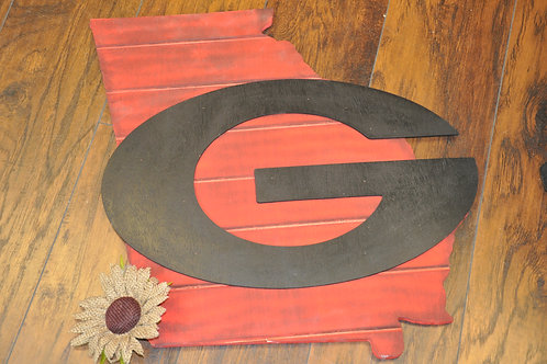 Georgia G Wood Door Hanger