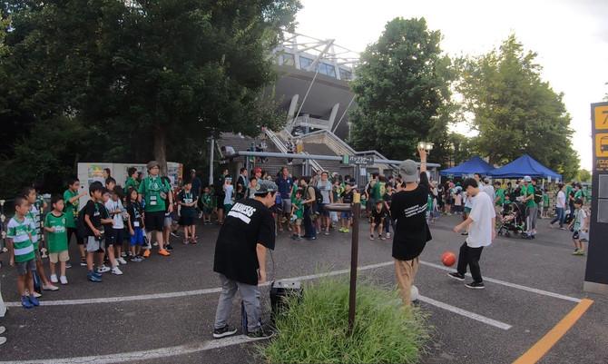[出演レポート]東京ヴェルディのホームゲームイベントに出演しました!