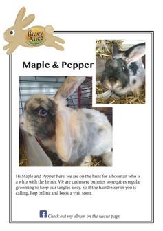 Maple & Pepper
