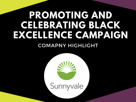 Promoting and Celebrating Black Excellence Campaign Company Spotlight: City of Sunnyvale