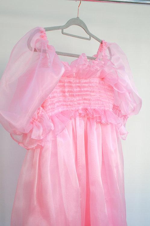 Darcey Organza Frill Dress