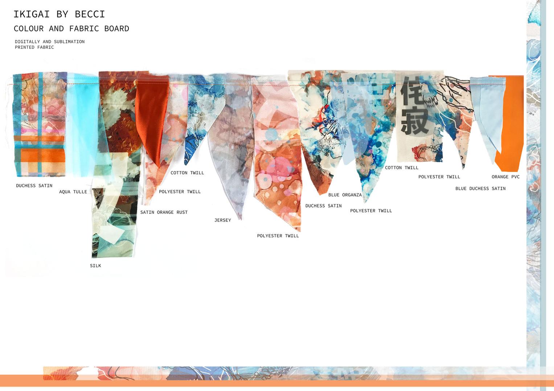 Colours and Fabrics