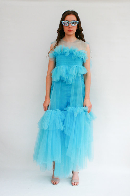 Ikigai Long Tulle Dress