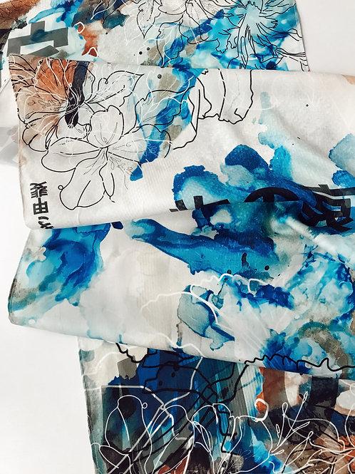 Digitally Printed Silk Scarf