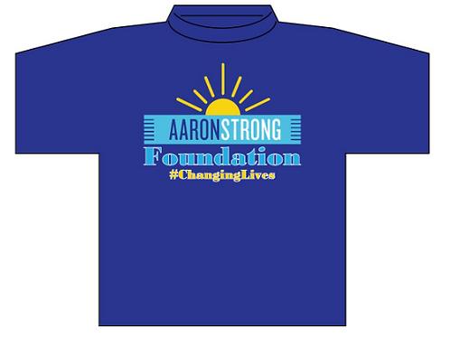 Short Sleeve  T-Shirt (Blue)
