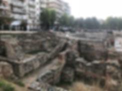 Roman ruins Greece