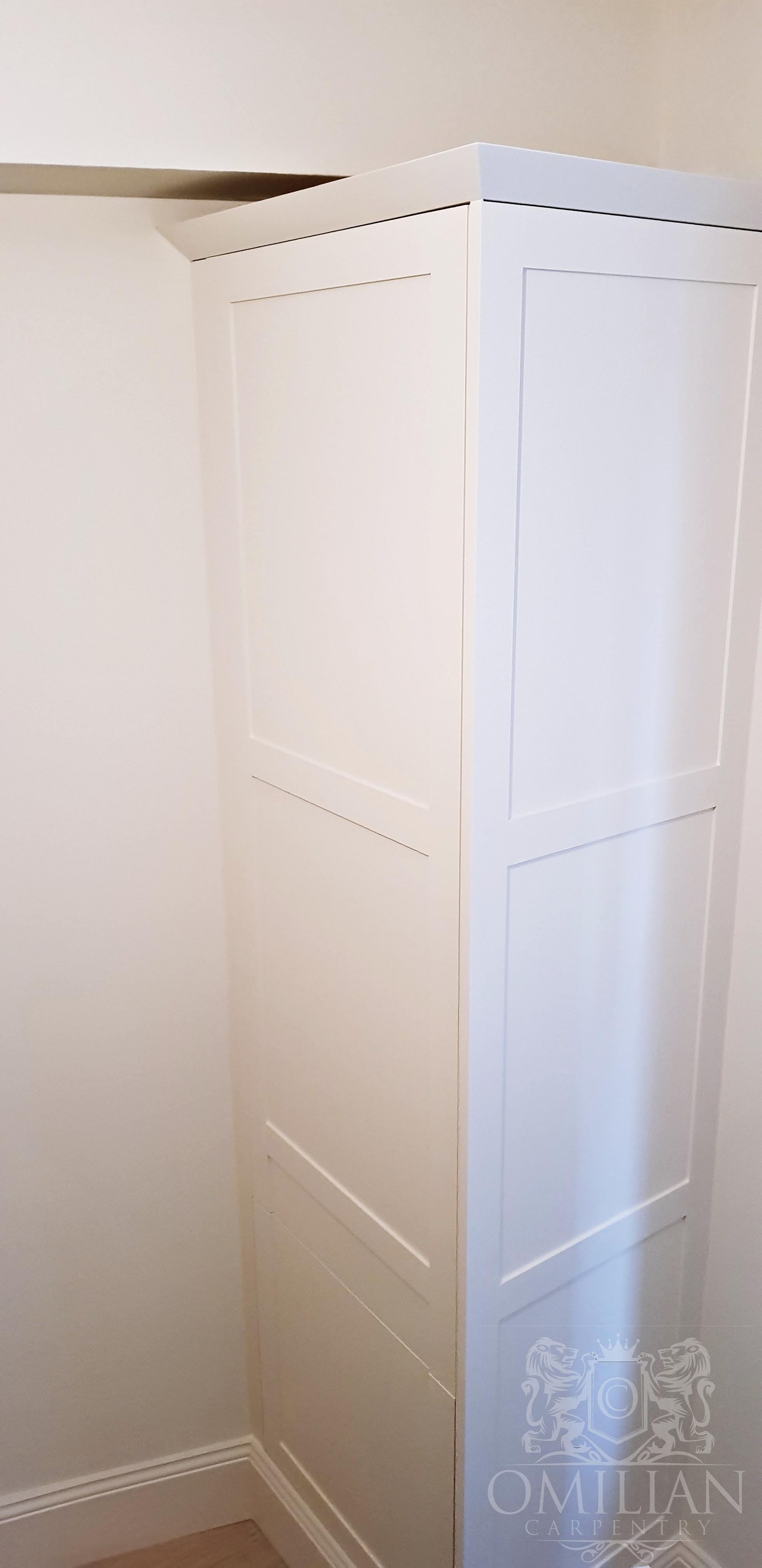Bespoke corner cupboard
