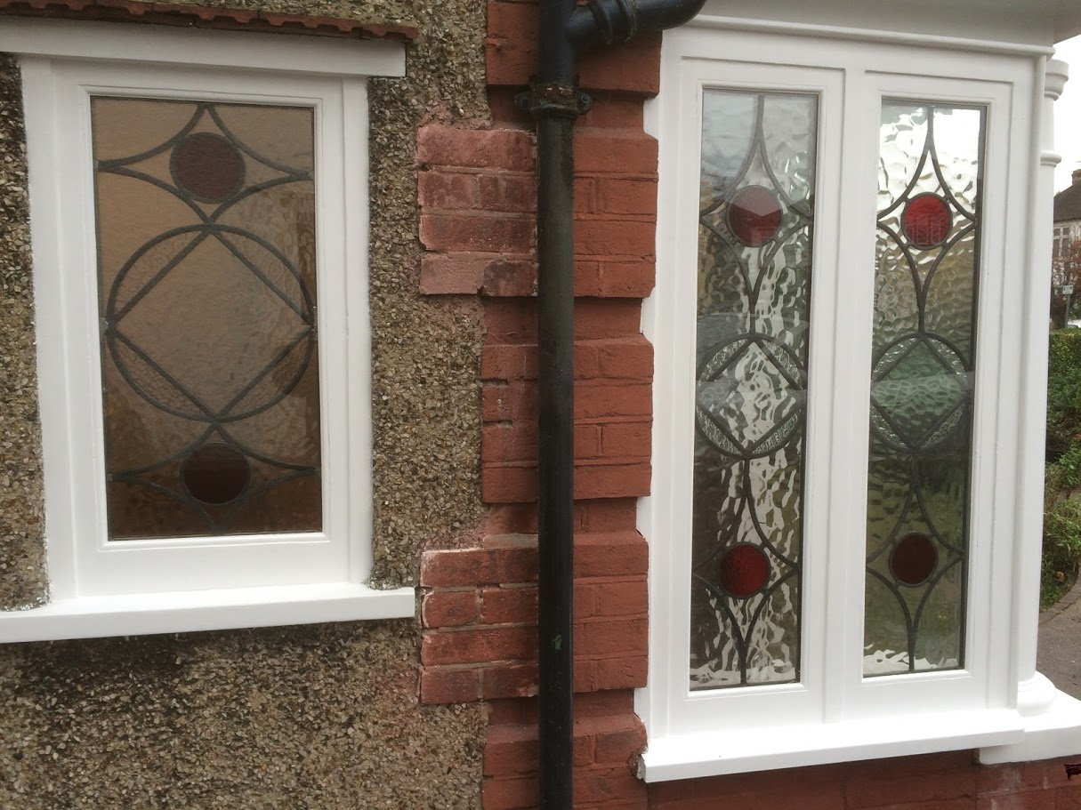 Triple glazing stainglass renovation