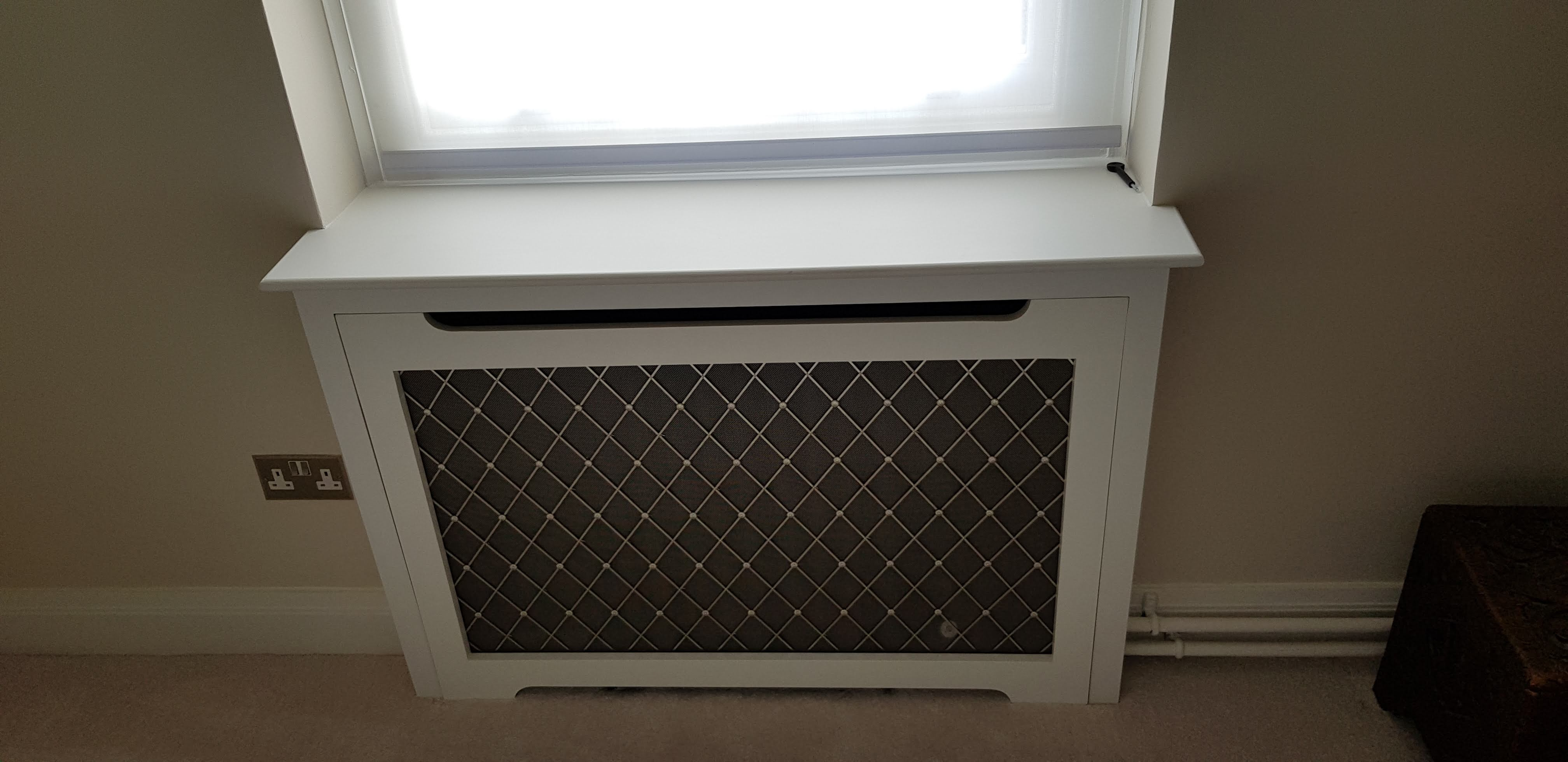 Radiator cover custom design