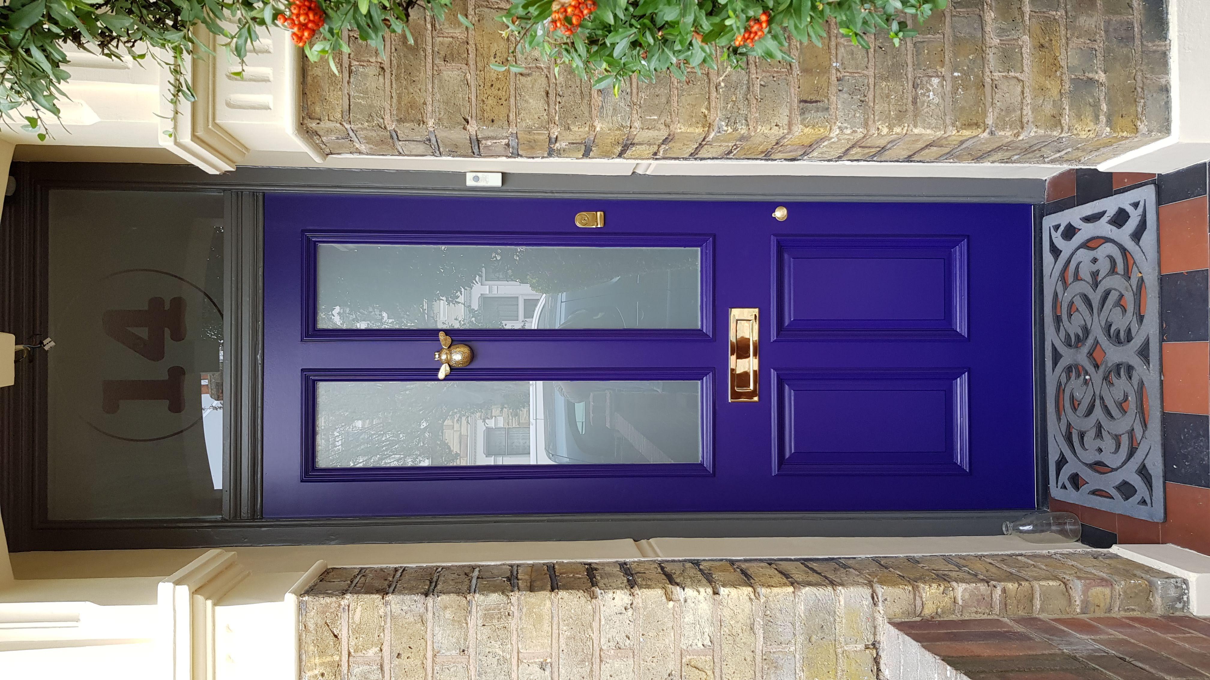 Jacky bespoke front door