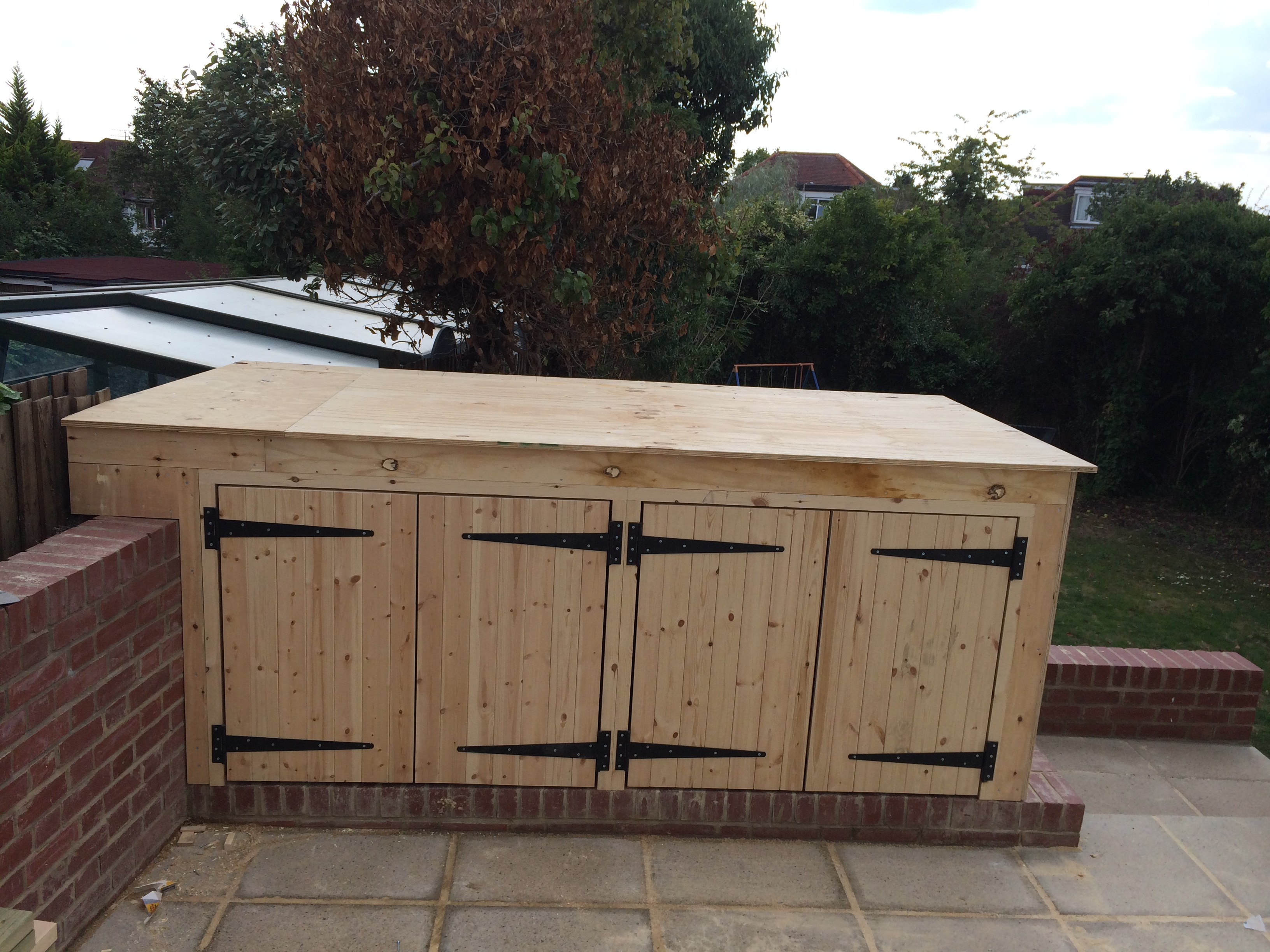 Bespoke outdoor storage