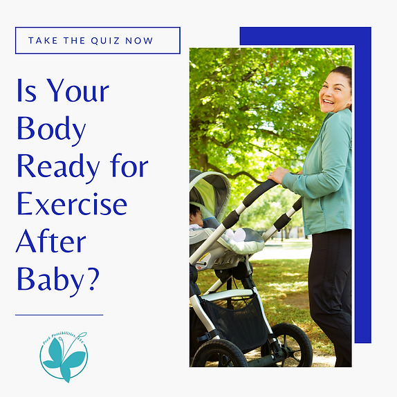 Is Your Body Ready for Exercise After Ba