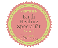 Birth Healing Specialist Certification S
