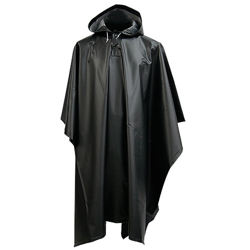 Poncho Impermeable Negro