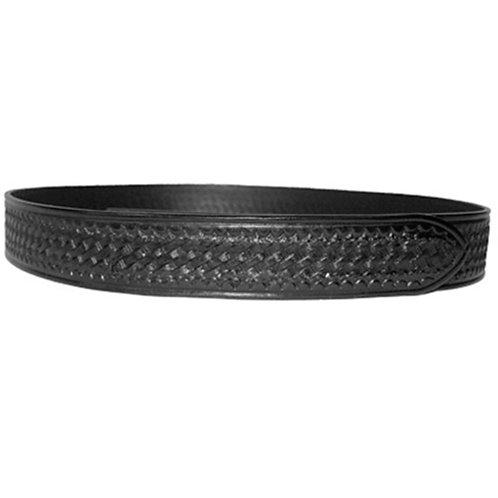 Cinturon Piel Grabada Negro