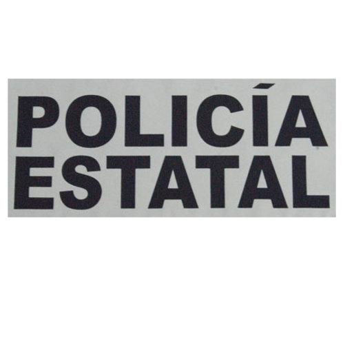 Estampado Policía Estatal