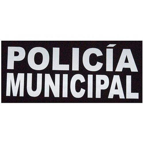 Estampado Policía Municipal - Reflejante
