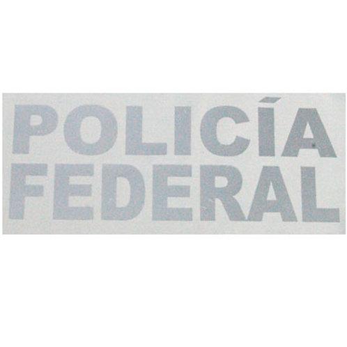 Espampado Policia Federal - Reflejante
