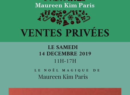 LE NOEL MAGIQUE DE MAUREEN KIM PARIS