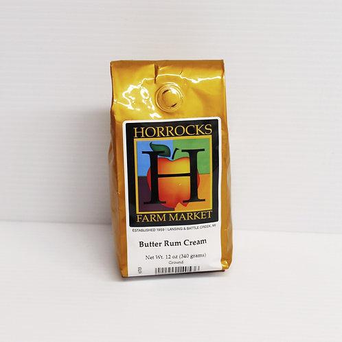 Butter Rum Cream Ground Coffee