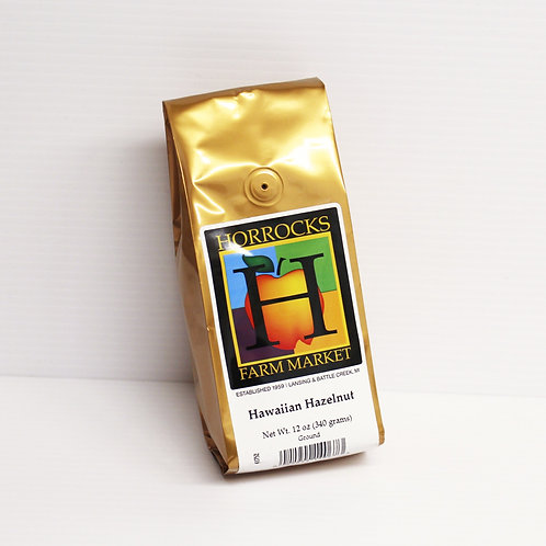 Hawaiian Hazelnut Ground Coffee