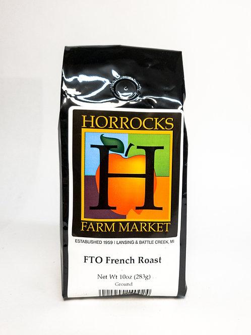 Fair Trade Organic French Roast Ground 10oz